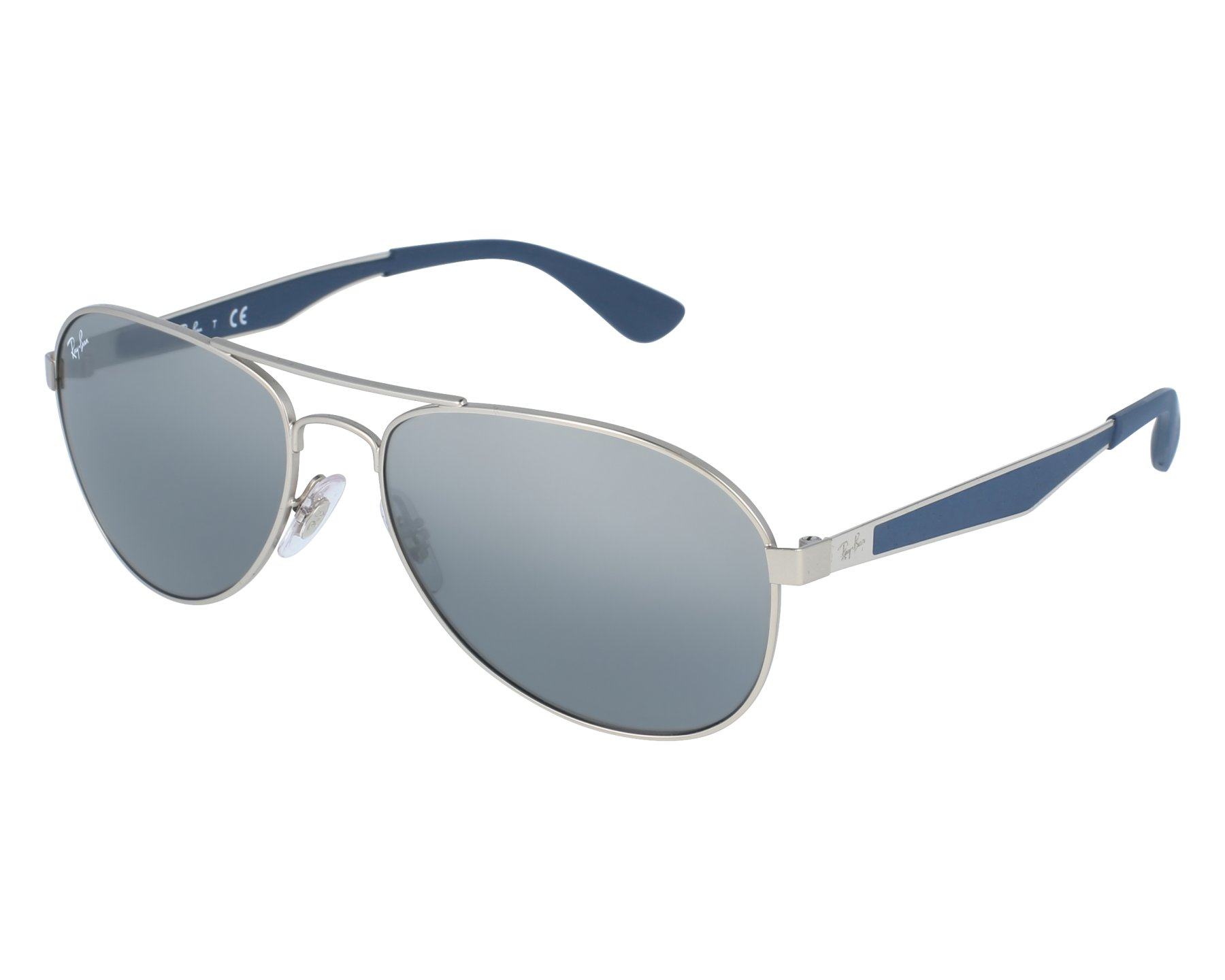 4731e1cfae Sunglasses Ray-Ban rb-3549 9012 88 58-16 Grey front view