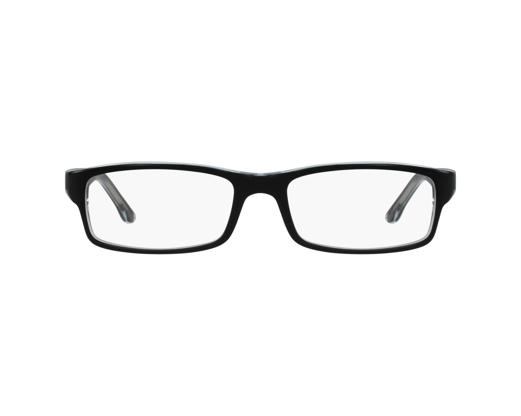 3e22c568b1 eyeglasses Ray-Ban RX-5114 2034 52-16 Black profile view