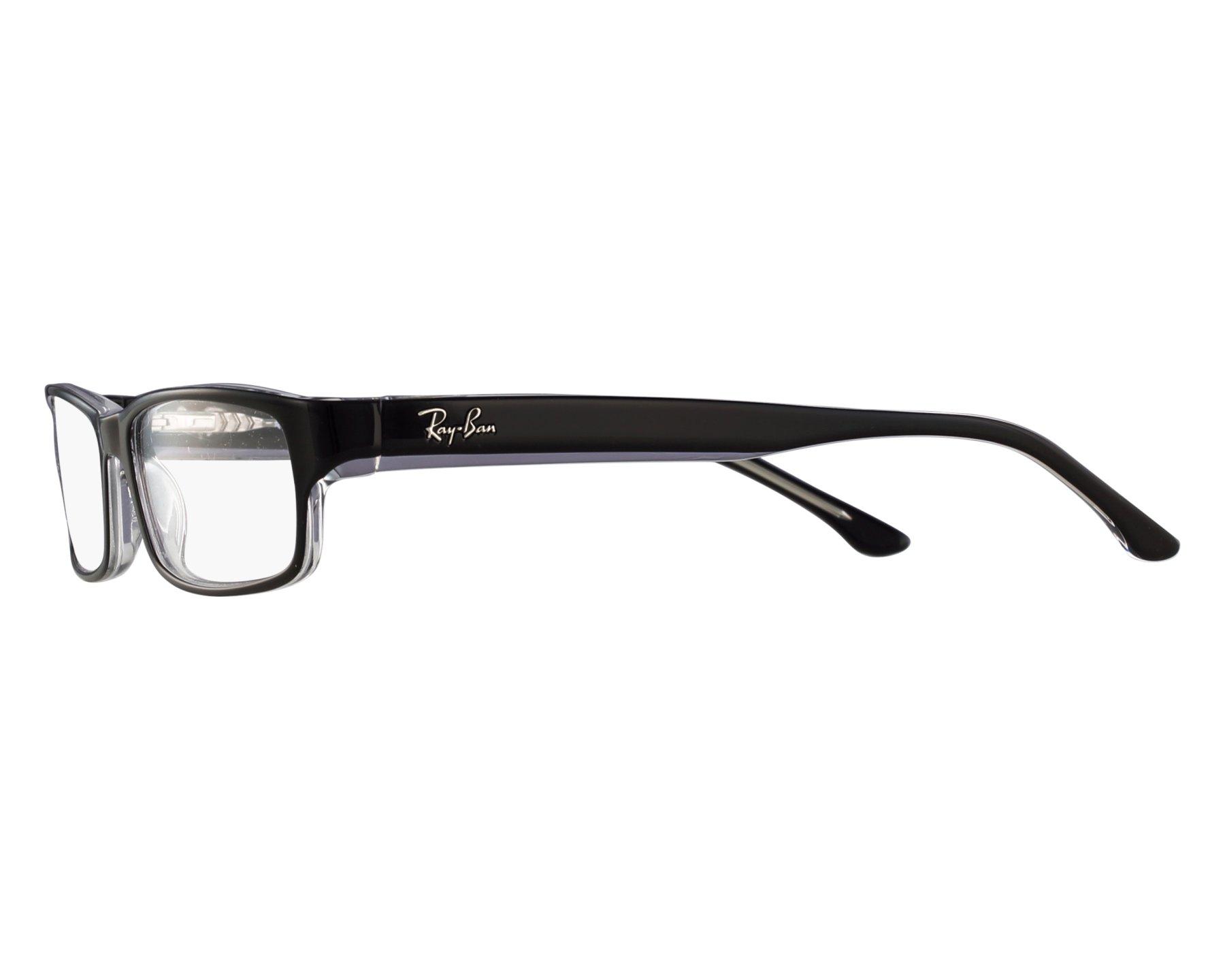 fab3b80b33 eyeglasses Ray-Ban RX-5114 2034 52-16 Black front view