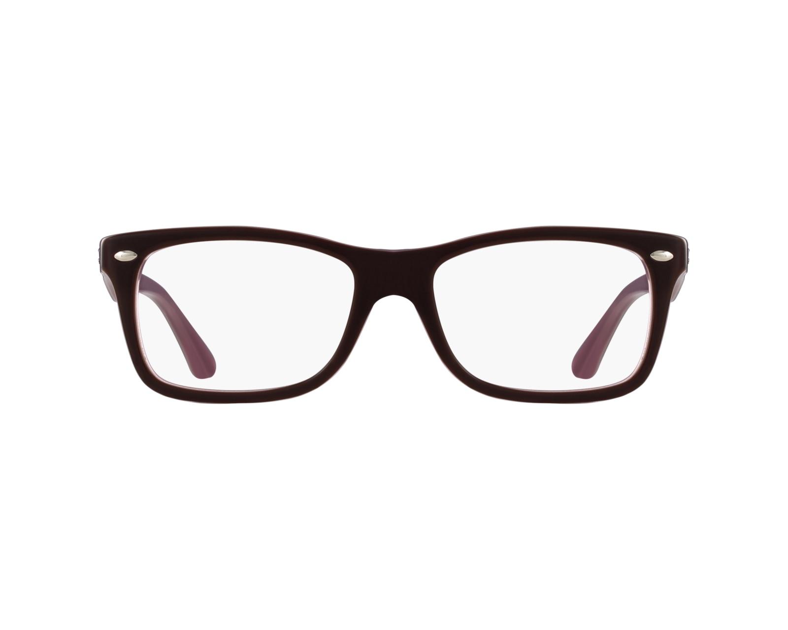 81eeb2df93 eyeglasses Ray-Ban RX-5228 2126 50-17 Purple profile view