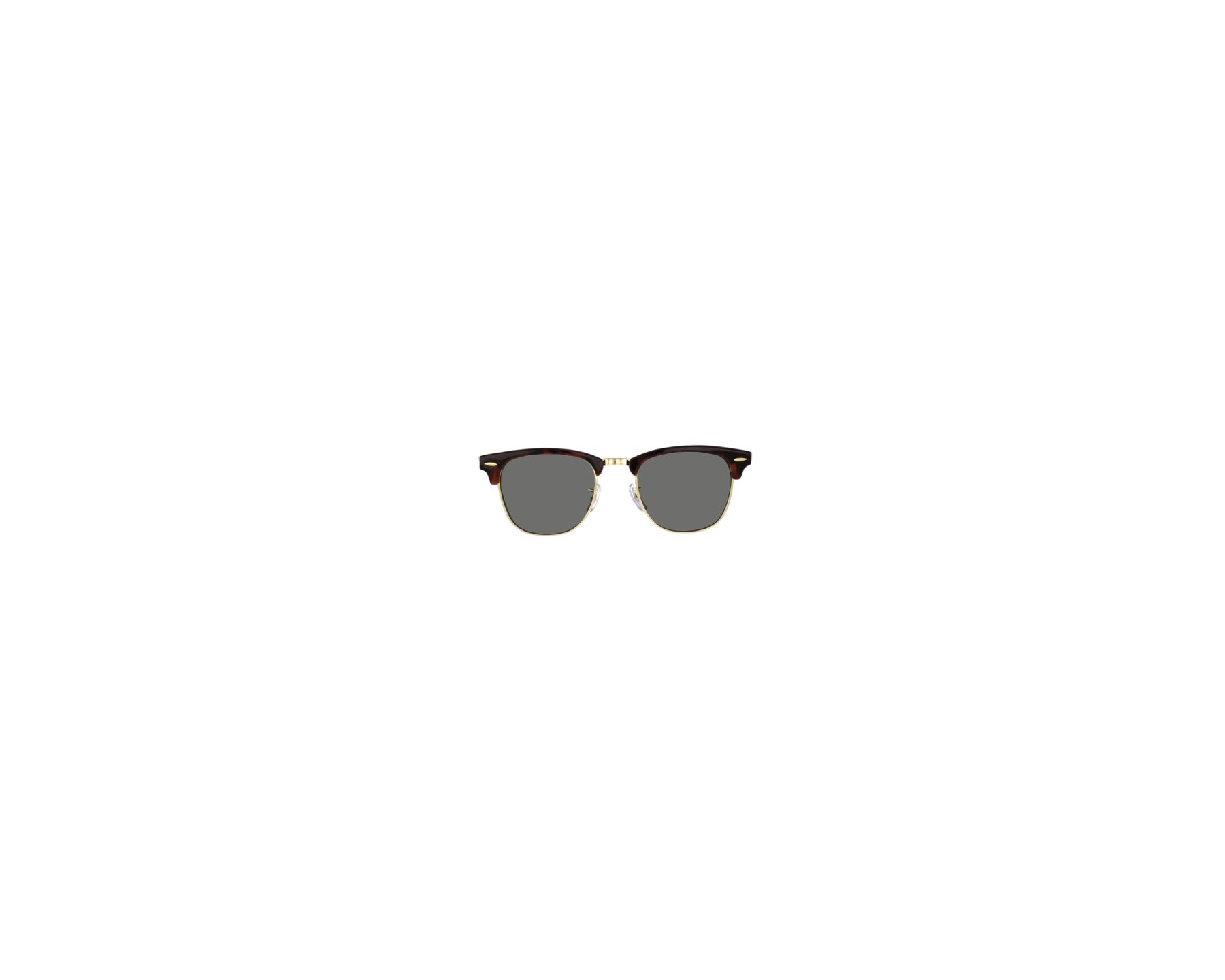 a52f4dbc1d9 Sunglasses Ray-Ban RB-3016 W0366 49-21 Brown Gold profile view