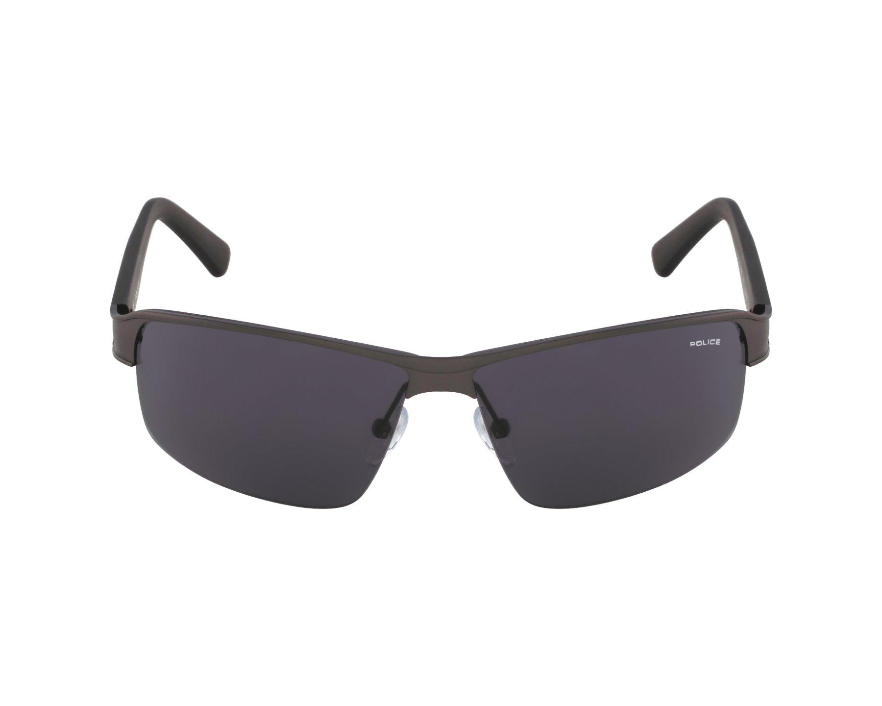 31593123014 Sunglasses Police S-8855 0627 - Grey profile view