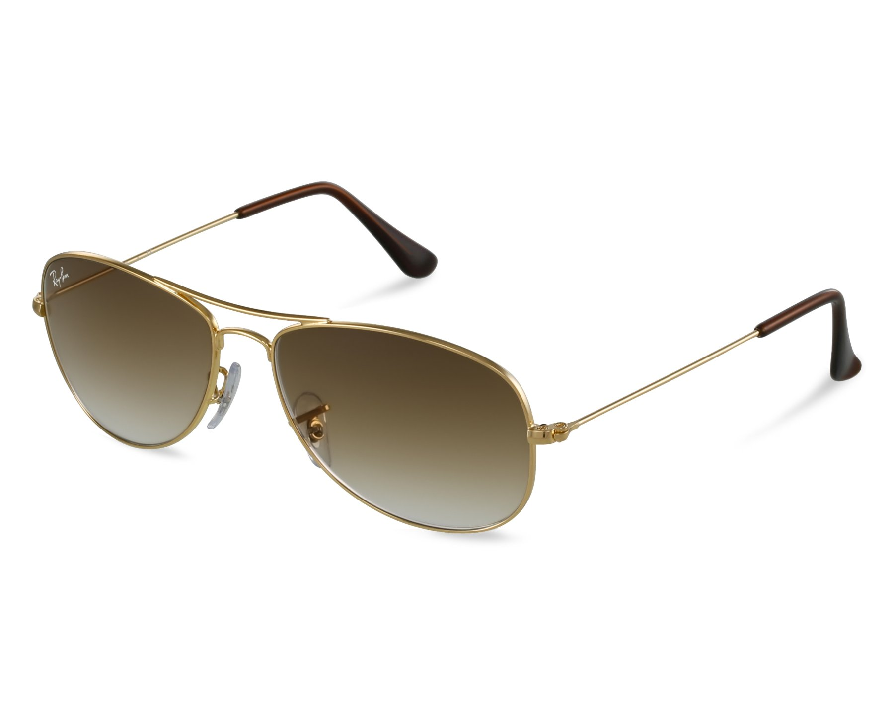 82bd4556ed84a Sunglasses Ray-Ban RB-3362 001 51 56-14 Gold front view