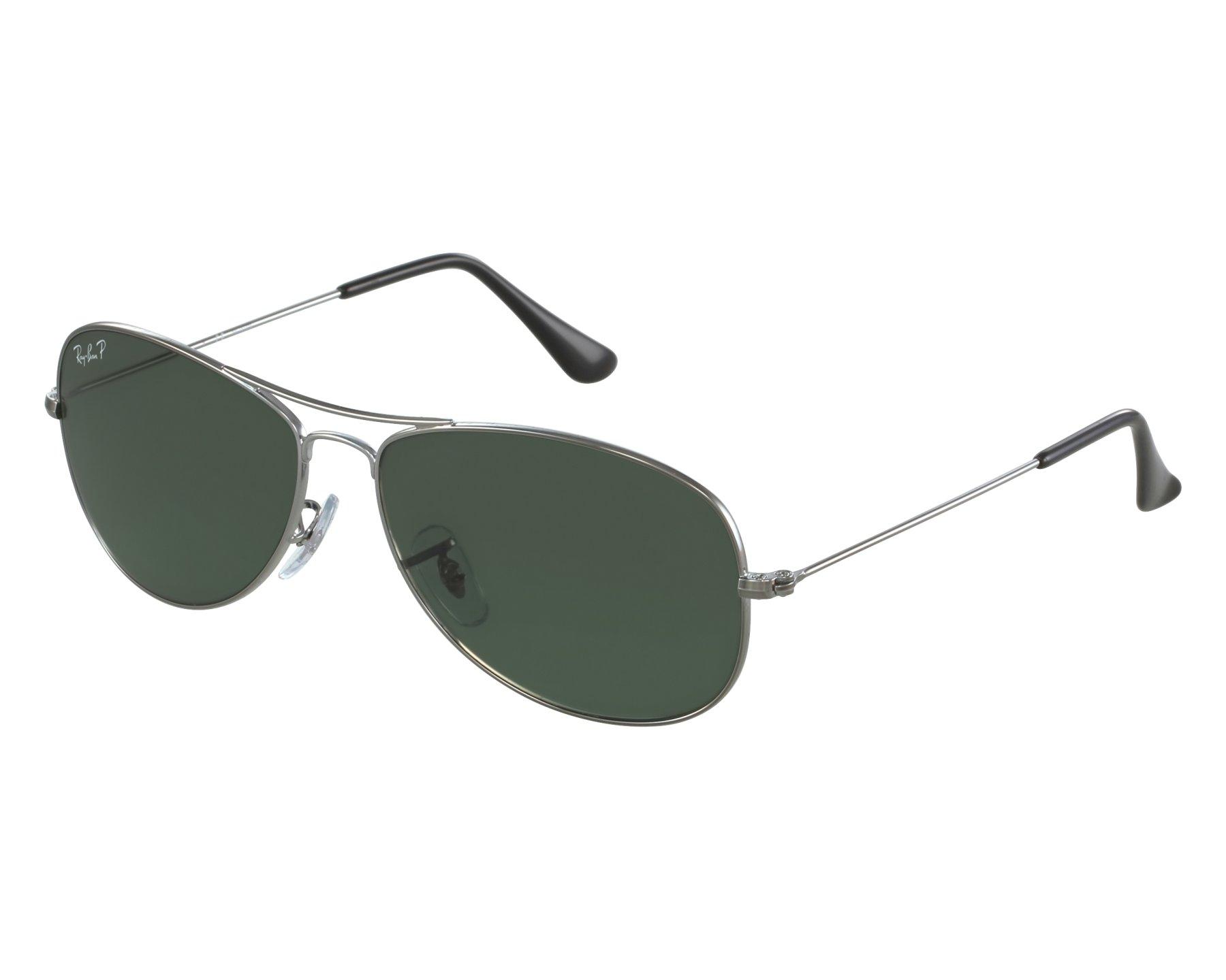 Sunglasses Ray-Ban RB-3362 004 58 59-14 Gun front view 92803b6da6c