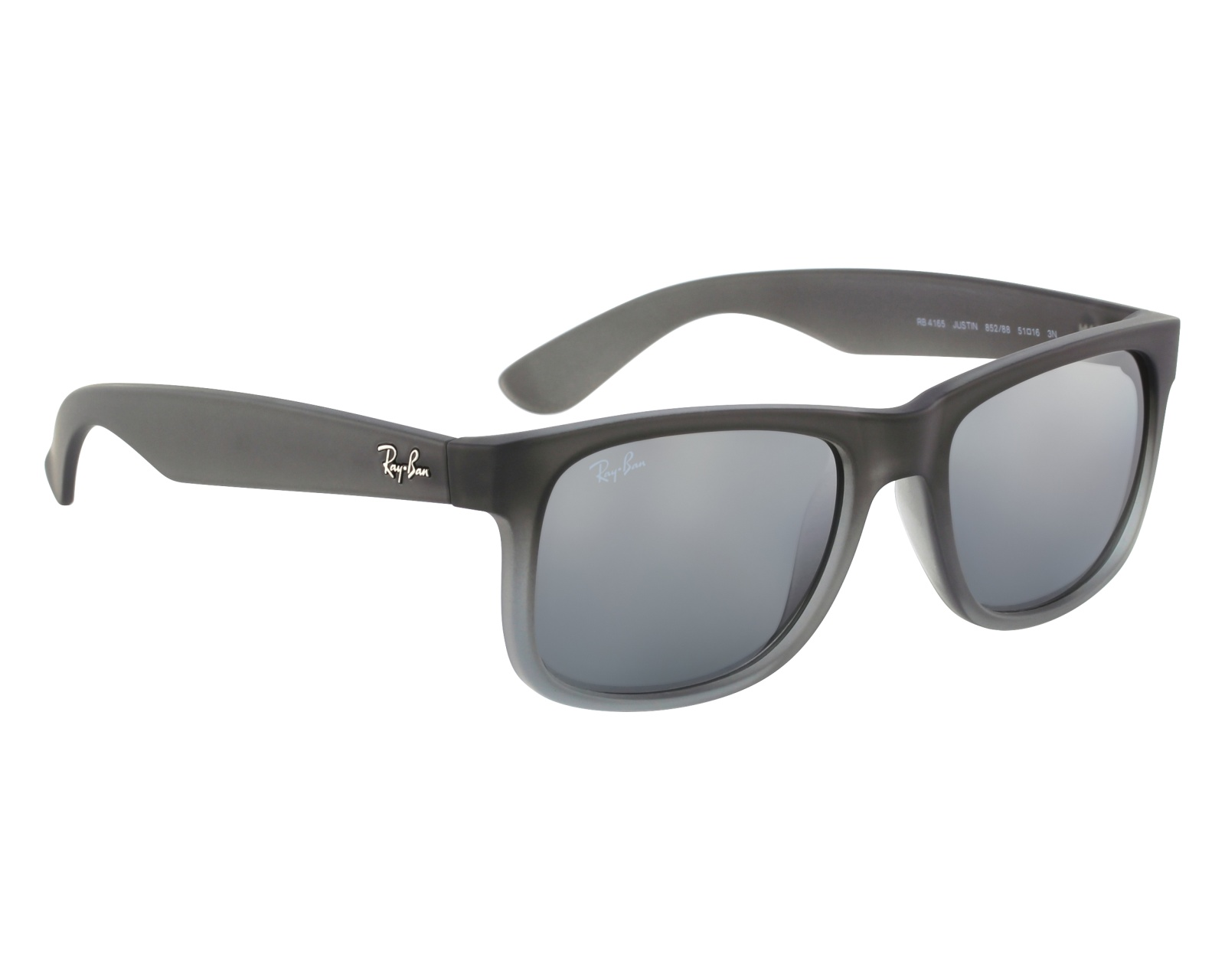 Sunglasses Ray-Ban RB-4165 852 88 51-15 Grey front view 79742755b5