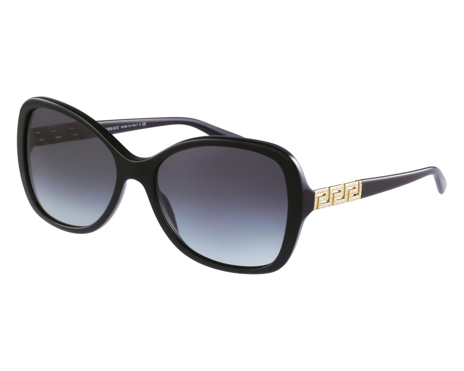 5d0521decf432 thumbnail Sunglasses Versace VE-4271-B GB1 8G - Black front view