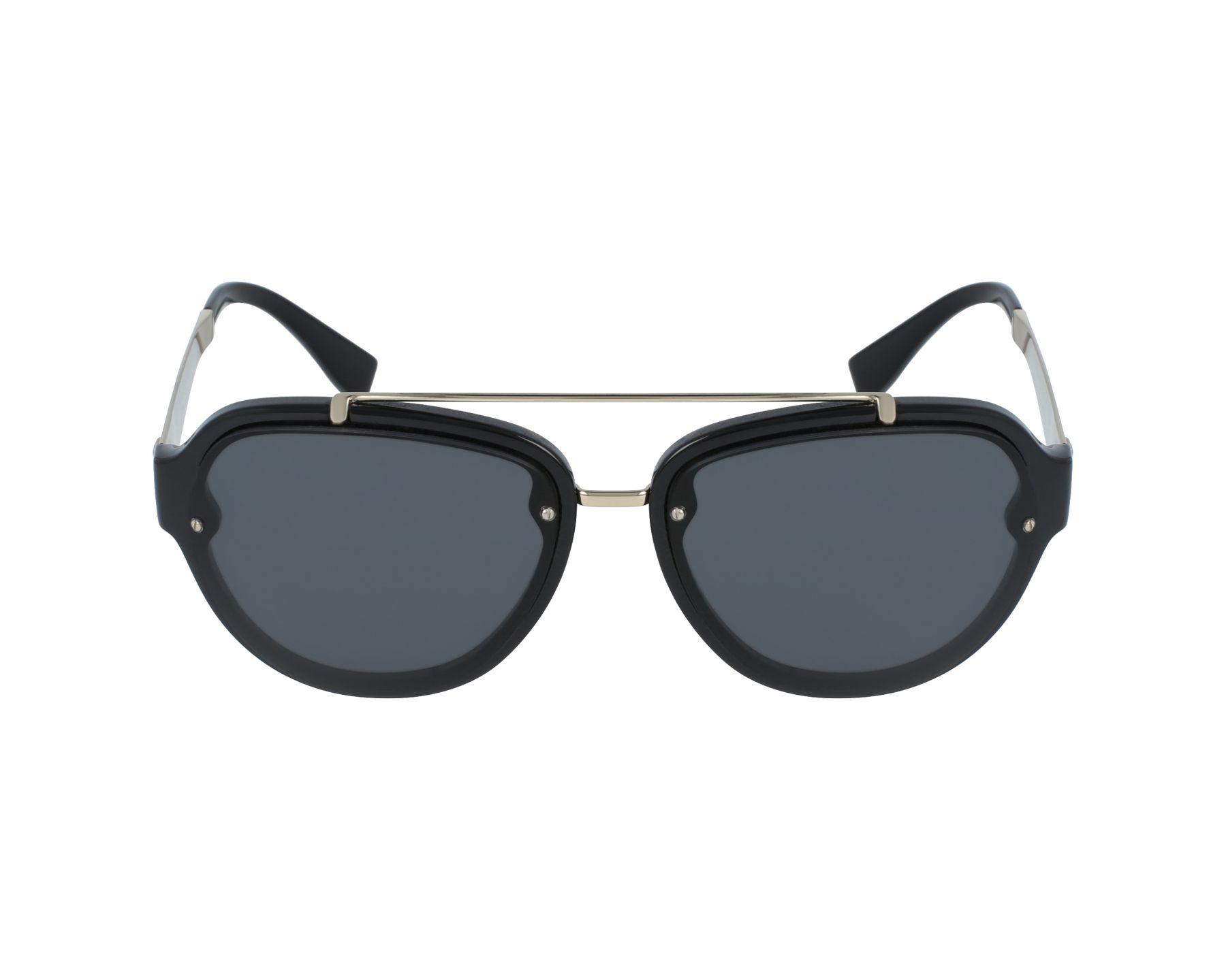 1271099a9c2c Sunglasses Versace VE-4327 GB1 87 57-16 Black Gold profile view