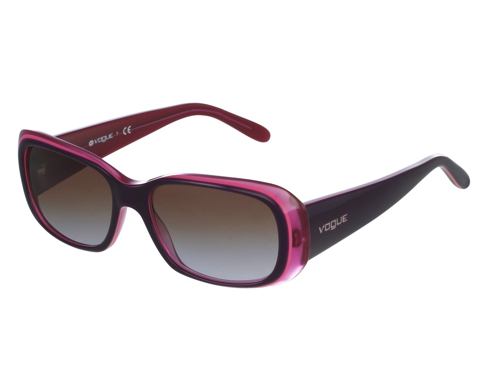 4084ab5b131 thumbnail Sunglasses Vogue VO-2606-S 2286 68 - Purple Pink front view