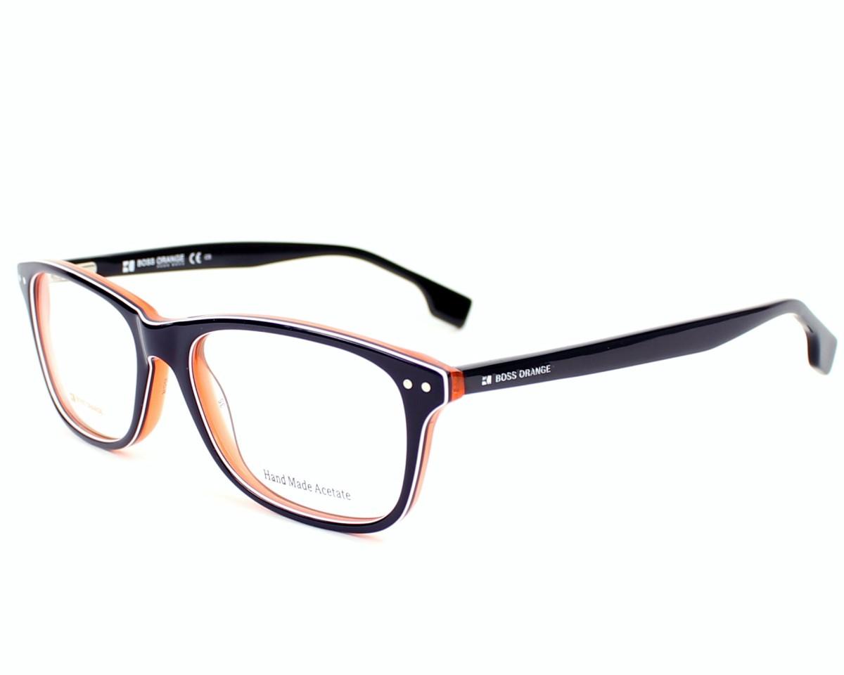 eyeglasses Boss Orange BO-0056 XCJ 52-16 Blue White profile view 377854dd90c6