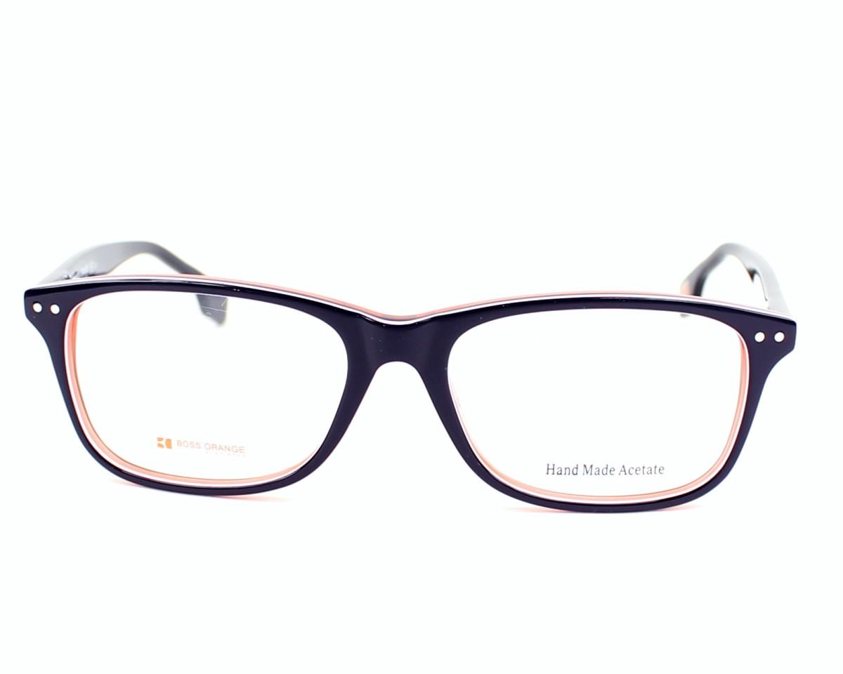eyeglasses Boss Orange BO-0056 XCJ 52-16 Blue White front view 99369b3db4f1
