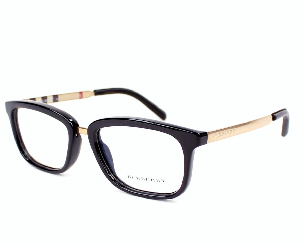 186d0198c149 eyeglasses Burberry BE-2160-Q 3001 - Black Gold profile view