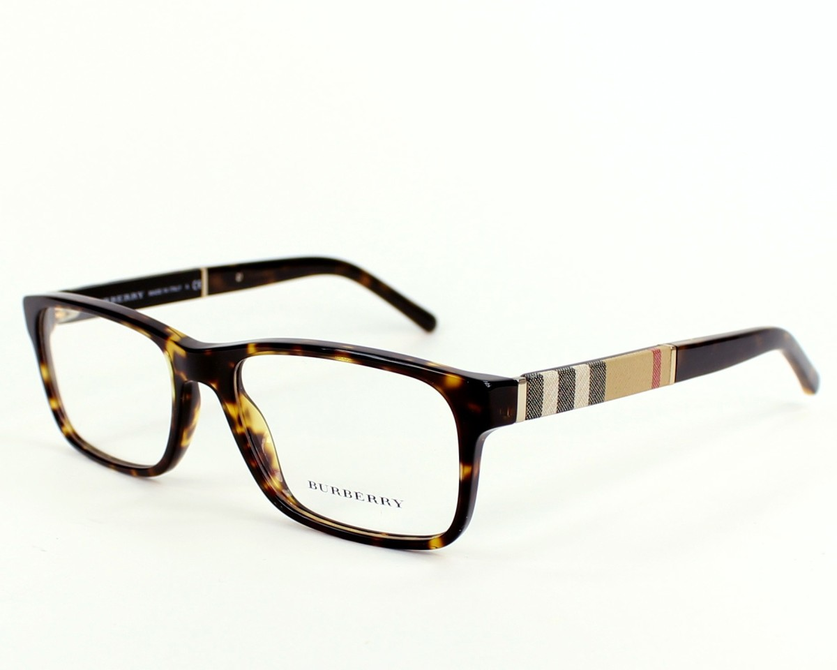 8555e5f236 eyeglasses Burberry BE-2162 3002 - Havana Brown profile view