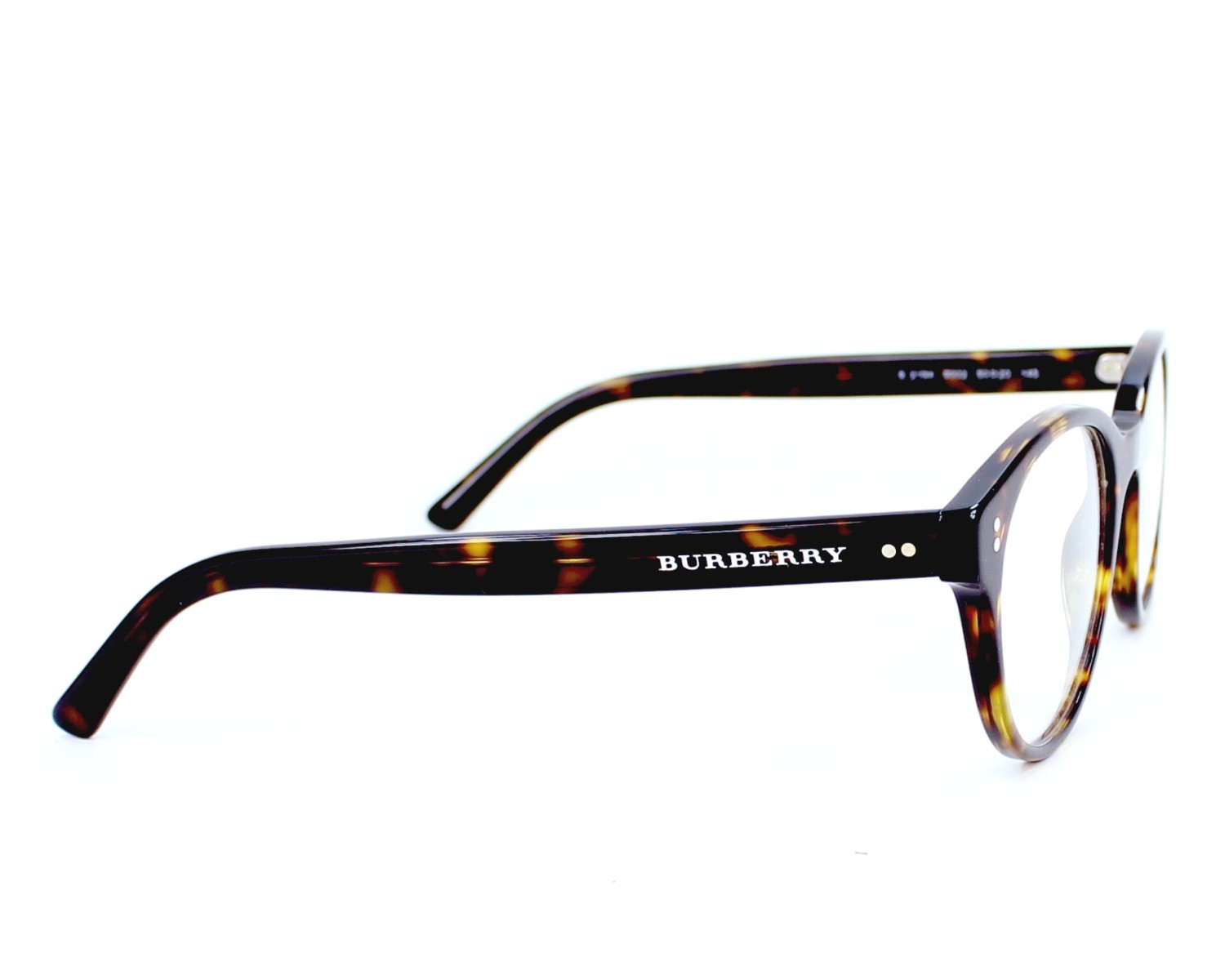214231caccd eyeglasses Burberry BE-2194 3002 - Havana side view