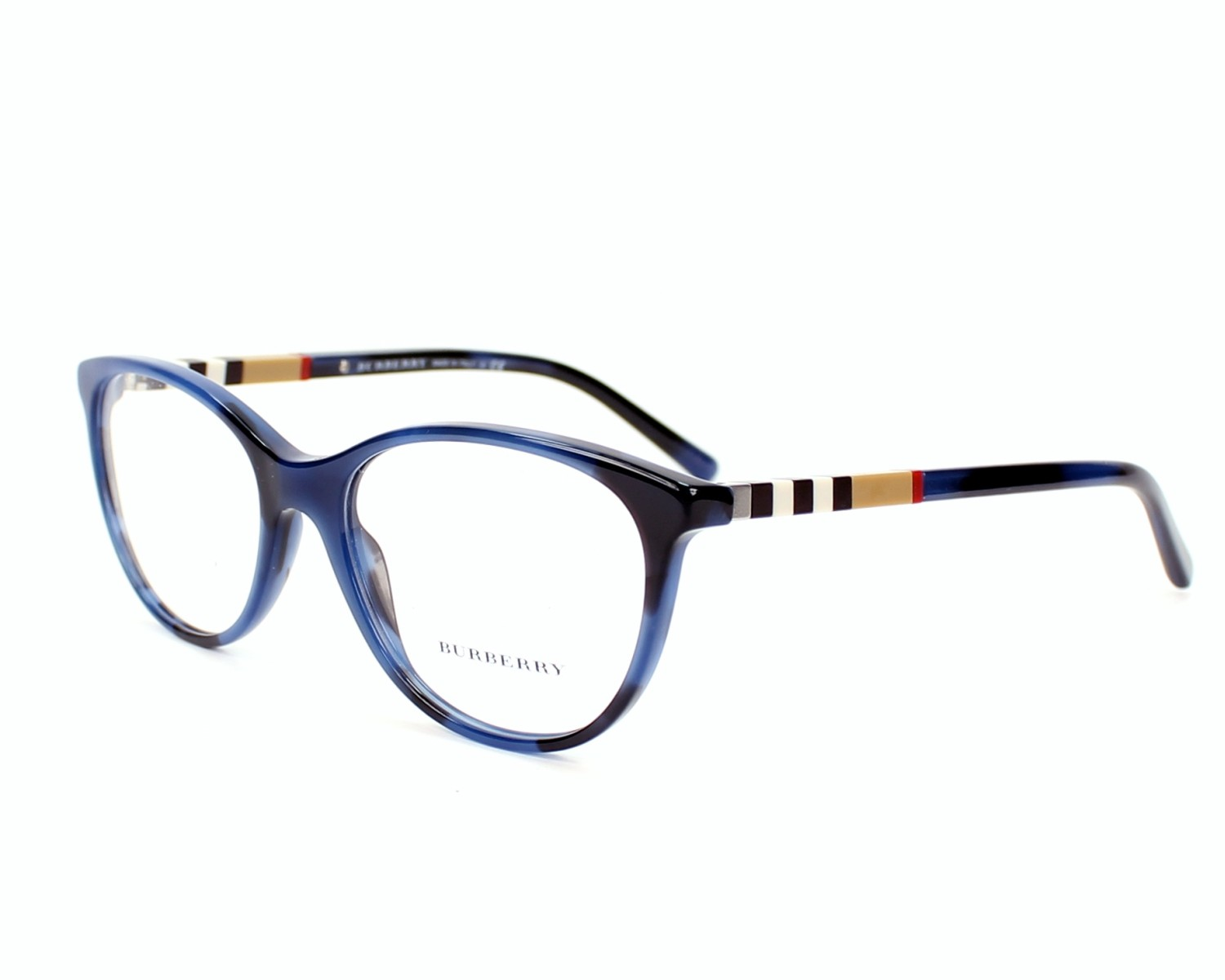 eyeglasses Burberry BE-2205 3546 - Blue profile view 2e3ef6637095