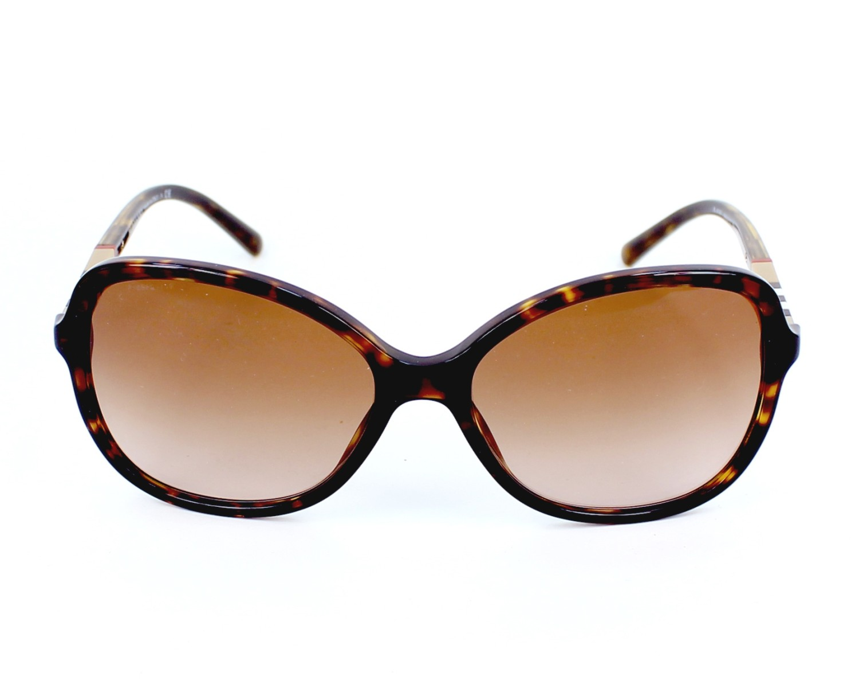 d6175bbaf110 Sunglasses Burberry BE-4197 3002 13 58-16 Havana front view