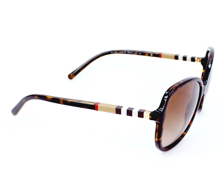 ee9e81754d04 Sunglasses Burberry BE-4197 3002 13 58-16 Havana side view