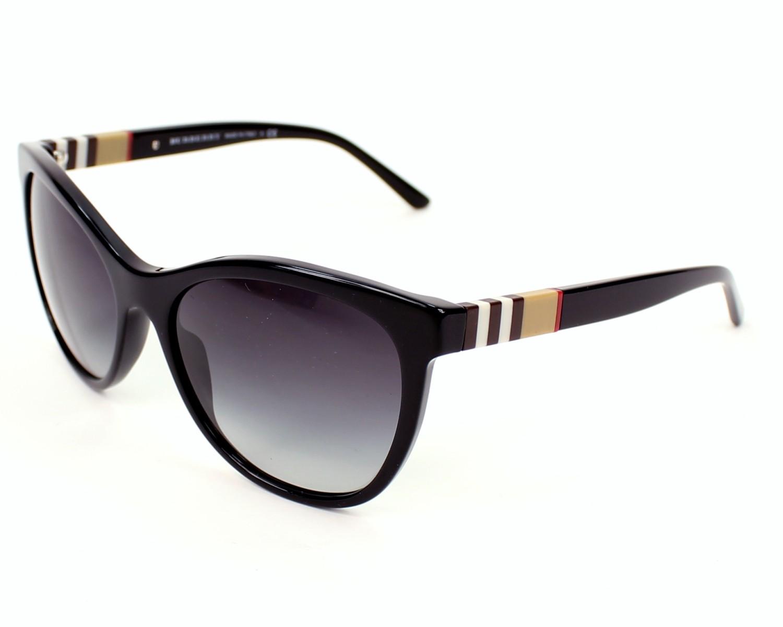 a8ff6665cbf Sunglasses Burberry BE-4199 3001 8G 58-17 Black profile view