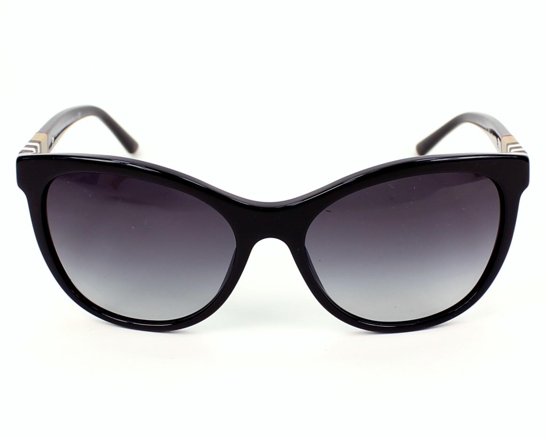 7e3429e0366e Sunglasses Burberry BE-4199 3001 8G 58-17 Black front view