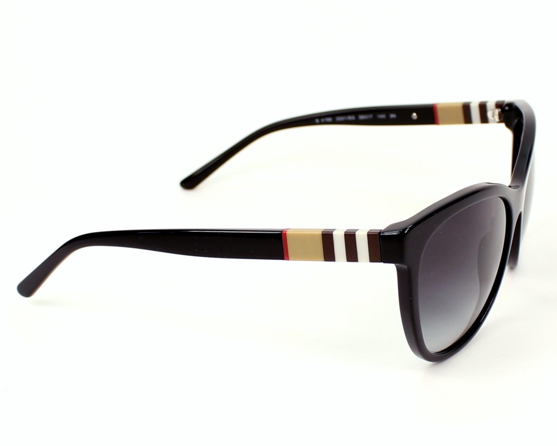 a65f91b74271 Sunglasses Burberry BE-4199 3001 8G 58-17 Black side view