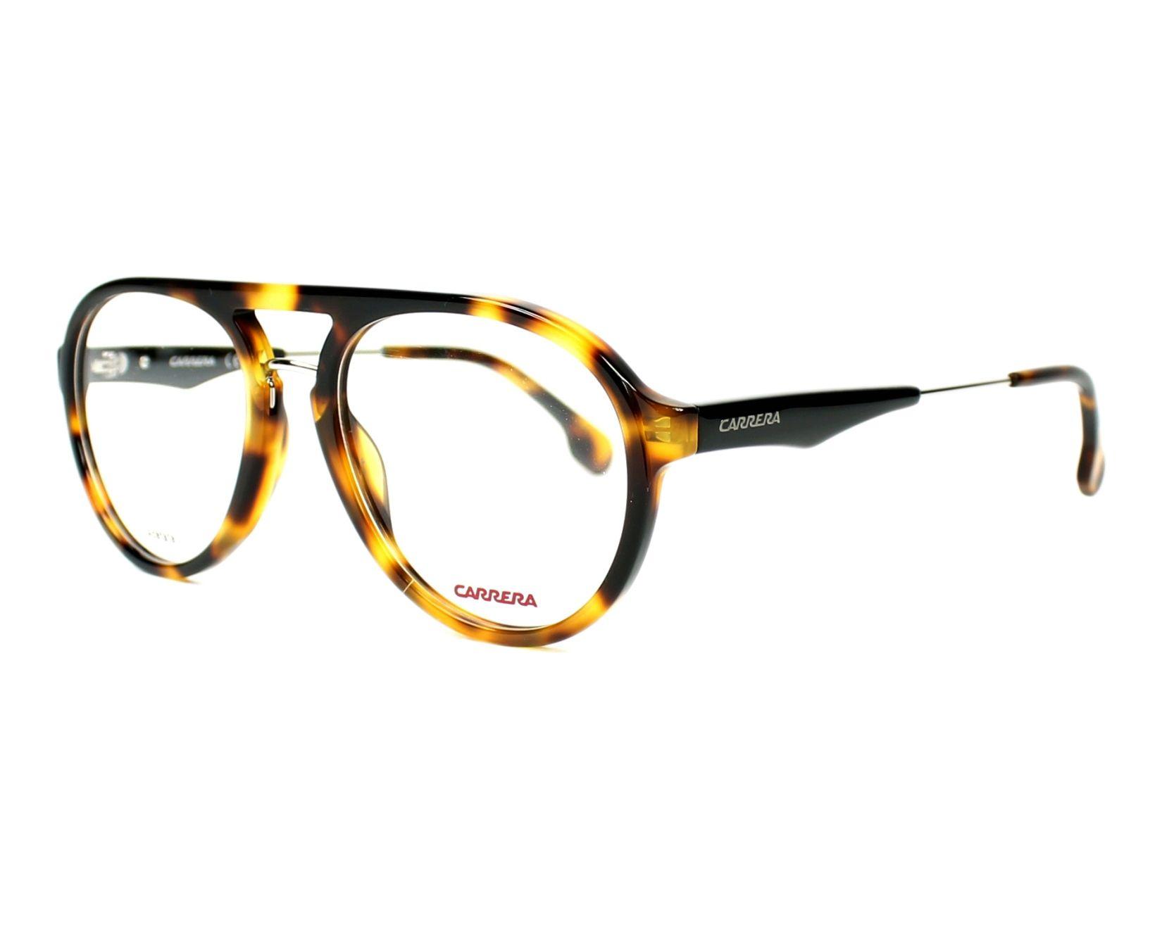 9a0e85aa130 eyeglasses Carrera CA-137-V SX7 53-19 Havana profile view