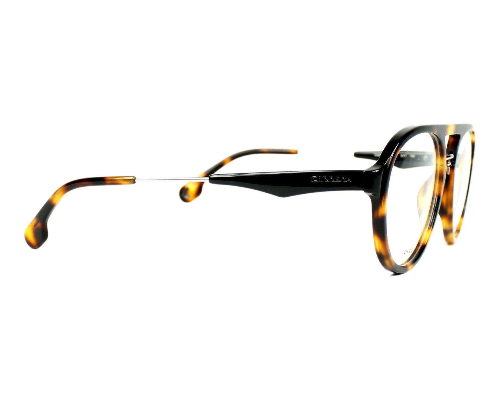 36abbfeb2eb eyeglasses Carrera CA-137-V SX7 53-19 Havana side view