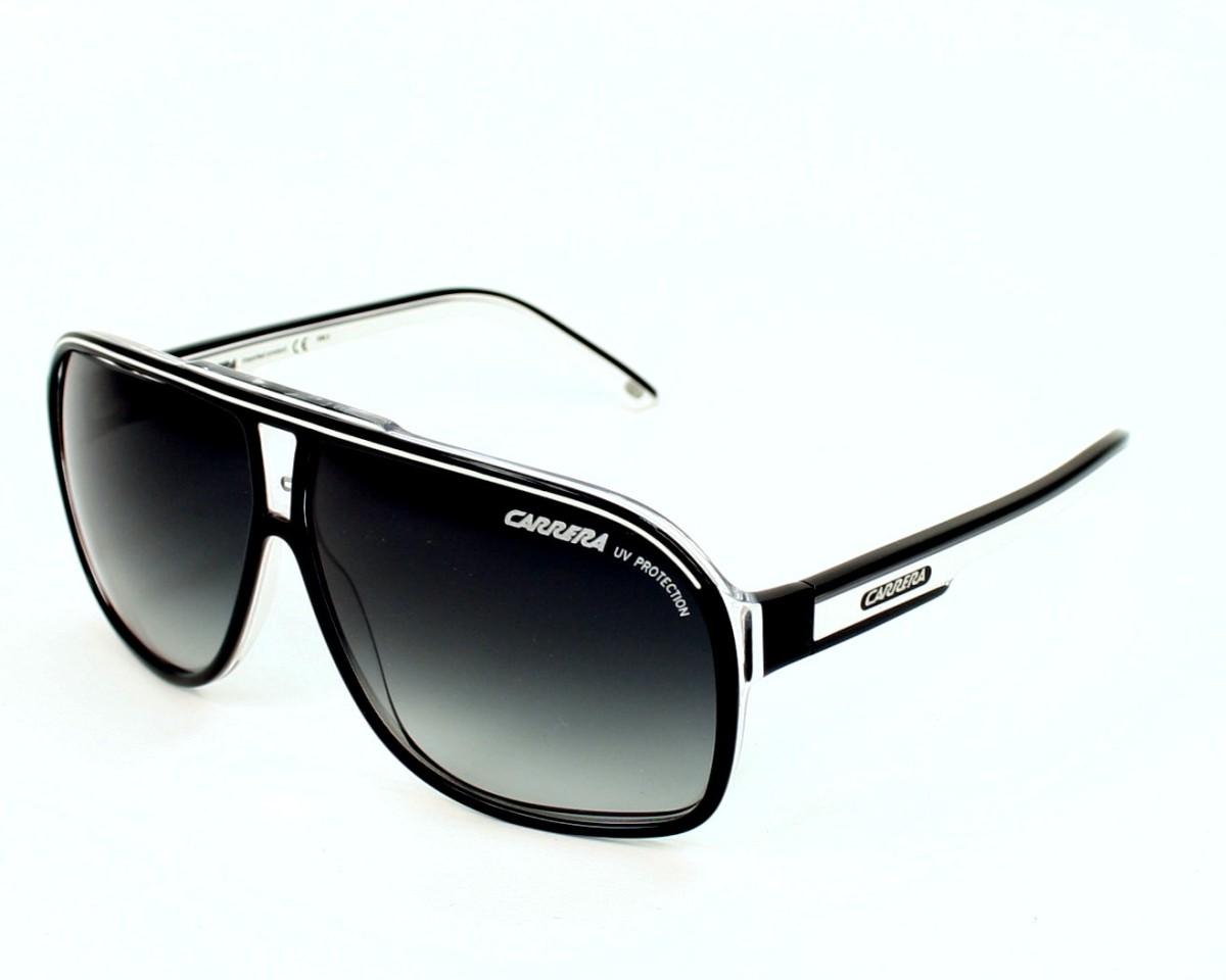 14e5d21d60 Sunglasses Carrera Grand-Prix-2 T4M 90 64-9 Black White profile