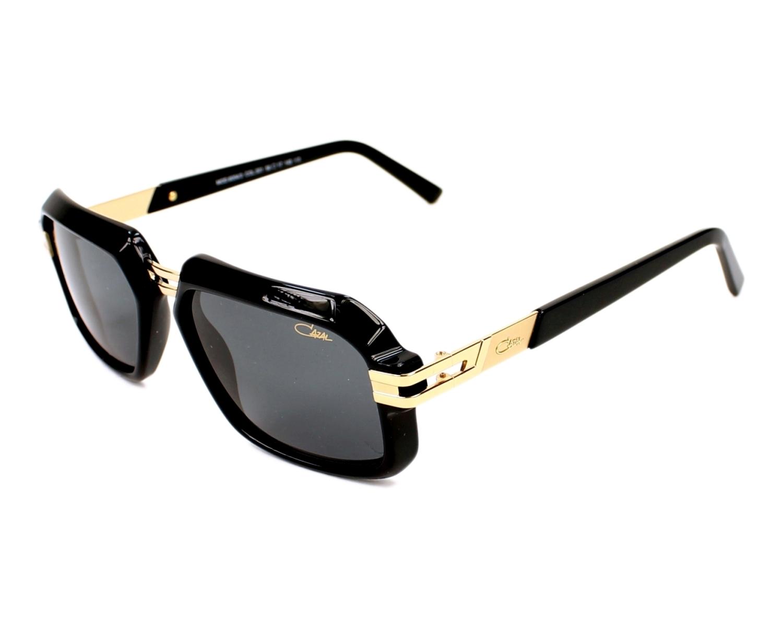 0dcdcb0048 Sunglasses Cazal 6004-3 001 56-17 Black Gold profile view