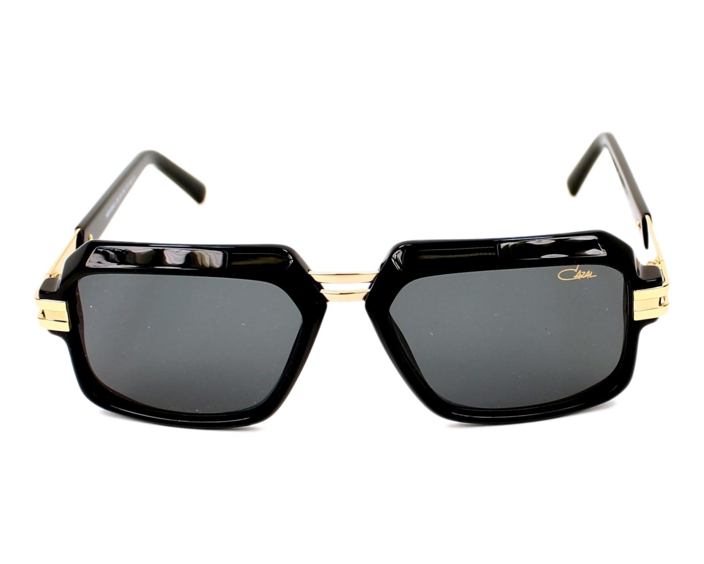 2423047a2e Sunglasses Cazal 6004-3 001 56-17 Black Gold front view
