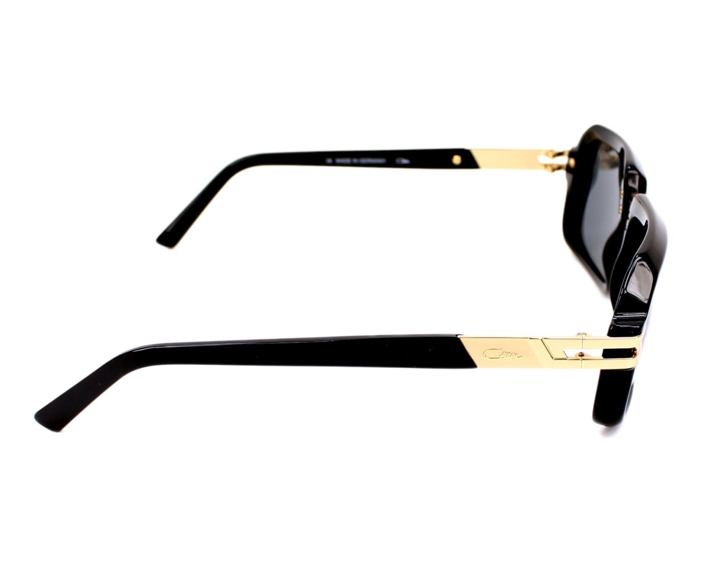 f98702a8c7 Sunglasses Cazal 6004-3 001 56-17 Black Gold side view