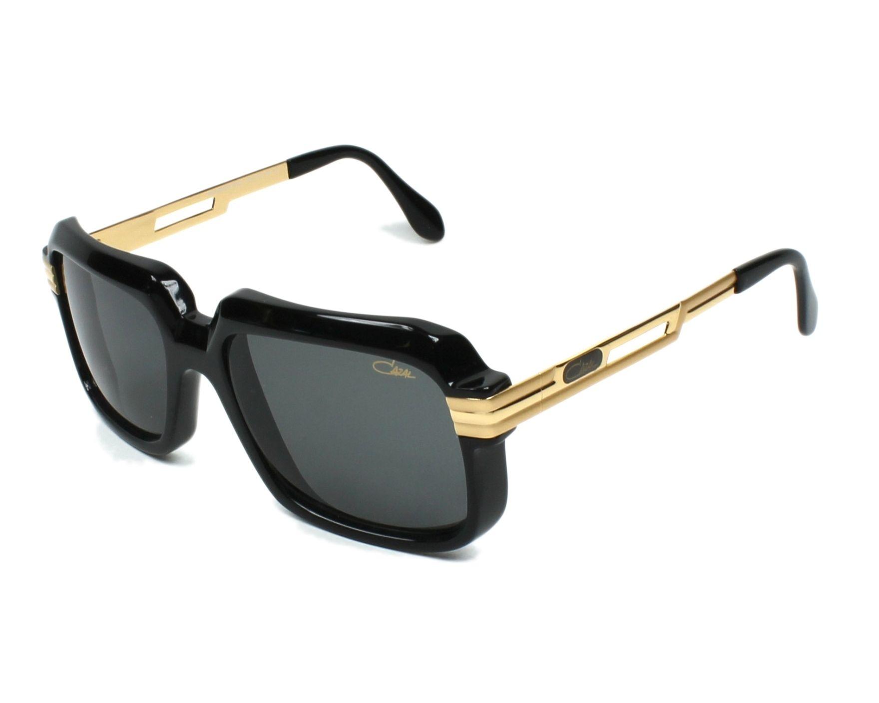 8afb57f9a6fc Sunglasses Cazal 607-2-3 001 - Black Gold profile view