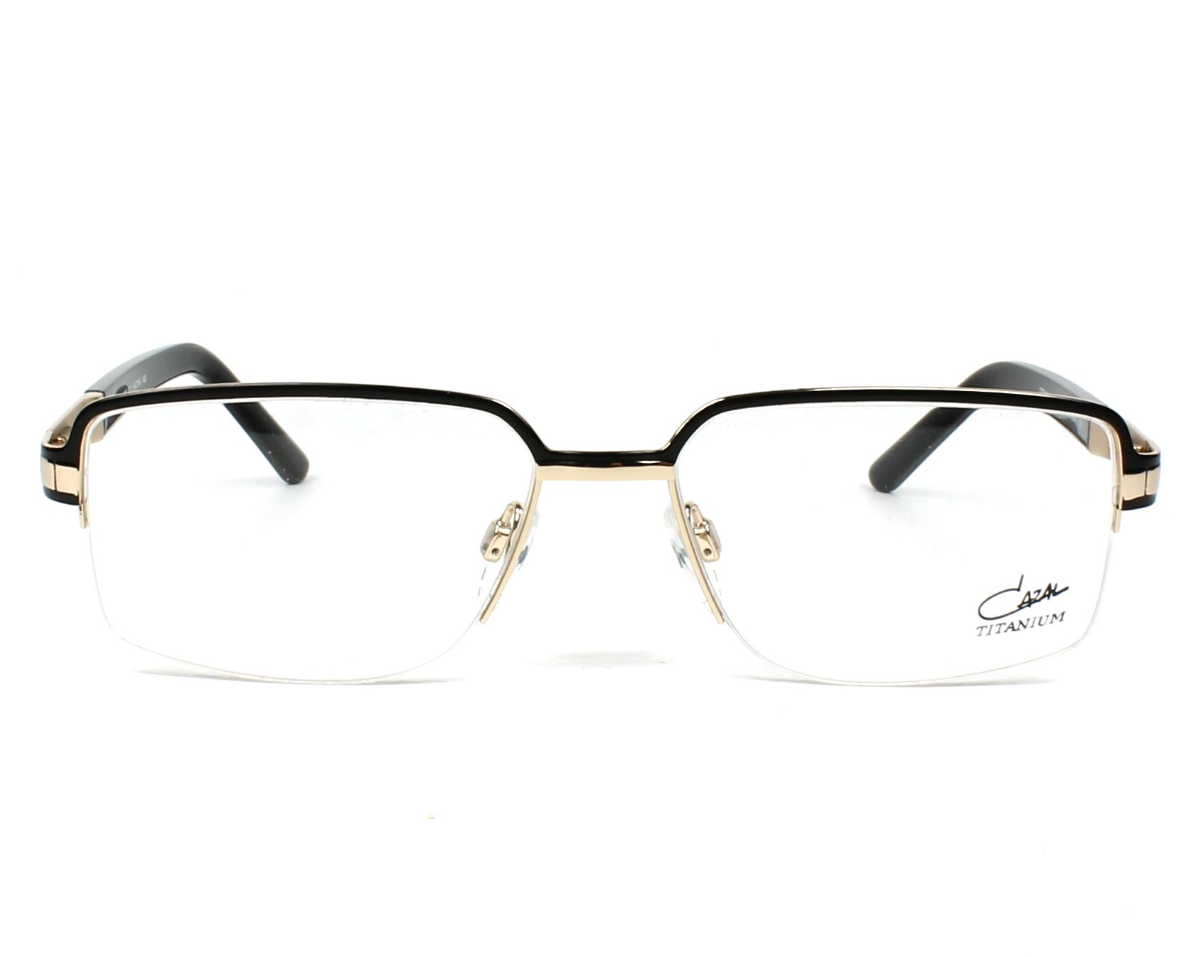 499ede4226 eyeglasses Cazal 7063 001 - Black Gold front view