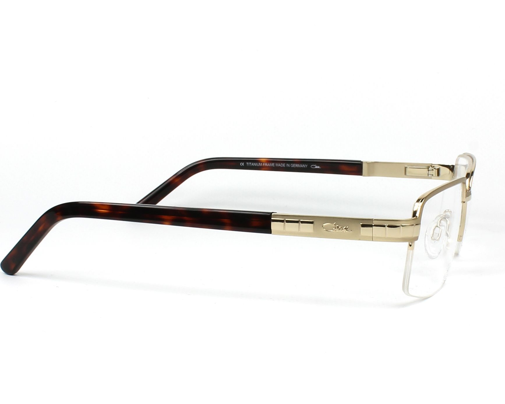 e167151813b6 eyeglasses Cazal 7063 003 54-16 Gold Havana side view