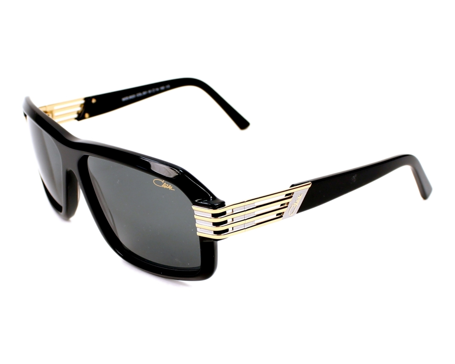 563e49c8c08 Sunglasses Cazal 8023 001 - Black Gold profile view