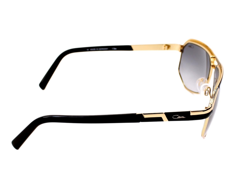 3c44c076294 Sunglasses Cazal 9056 001 61-13 Gold Black side view