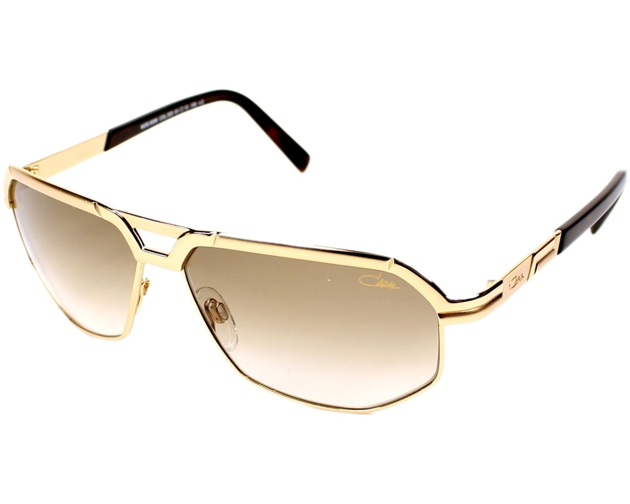 30e9aabe0eb Sunglasses Cazal 9056 003 61-13 Gold profile view