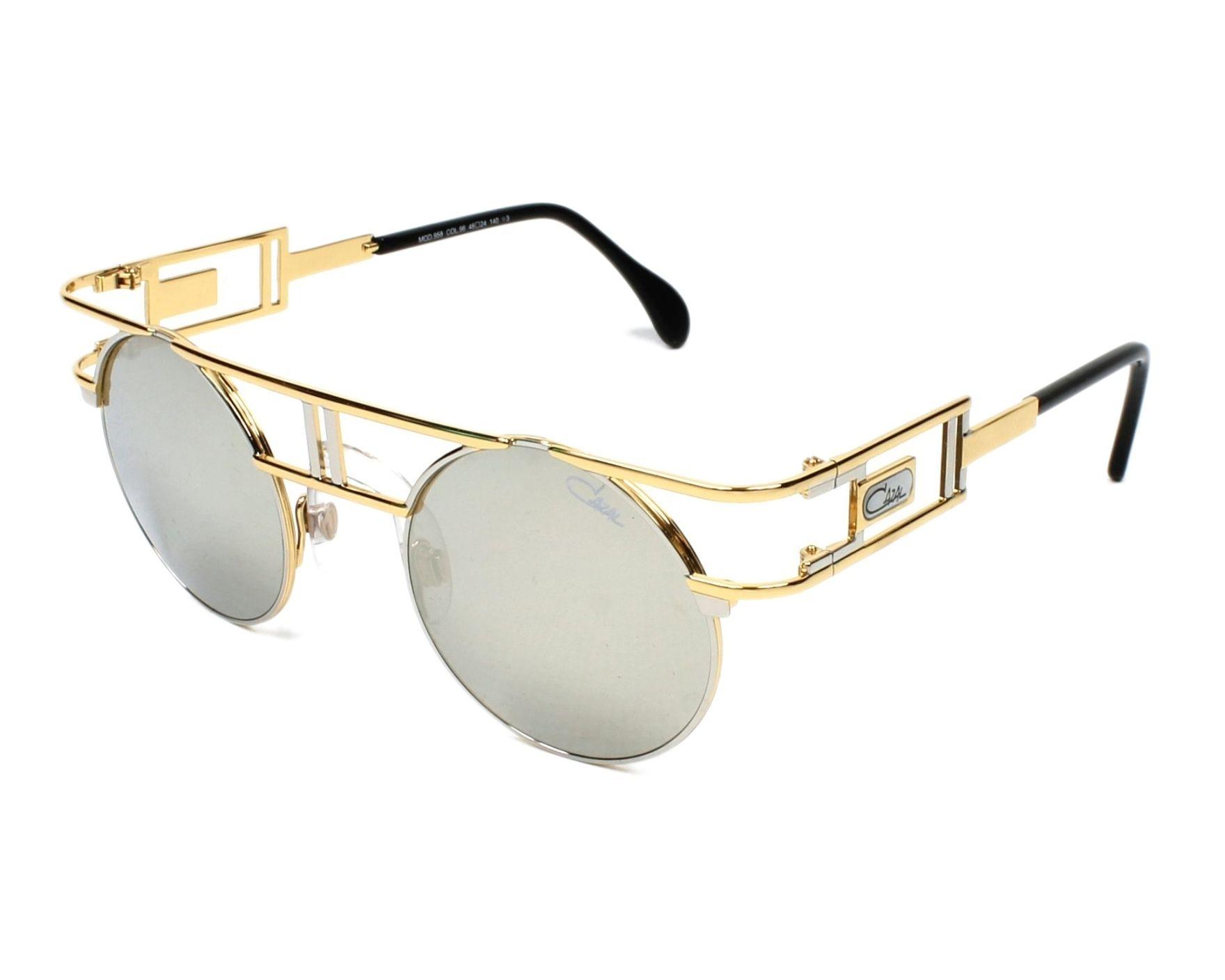 0d8aca74c39 Sunglasses Cazal 958 096 46-24 Gold profile view