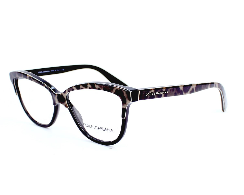 bf2cf6a67c7f eyeglasses Dolce & Gabbana DG-3229 1995 - Leo Black profile view