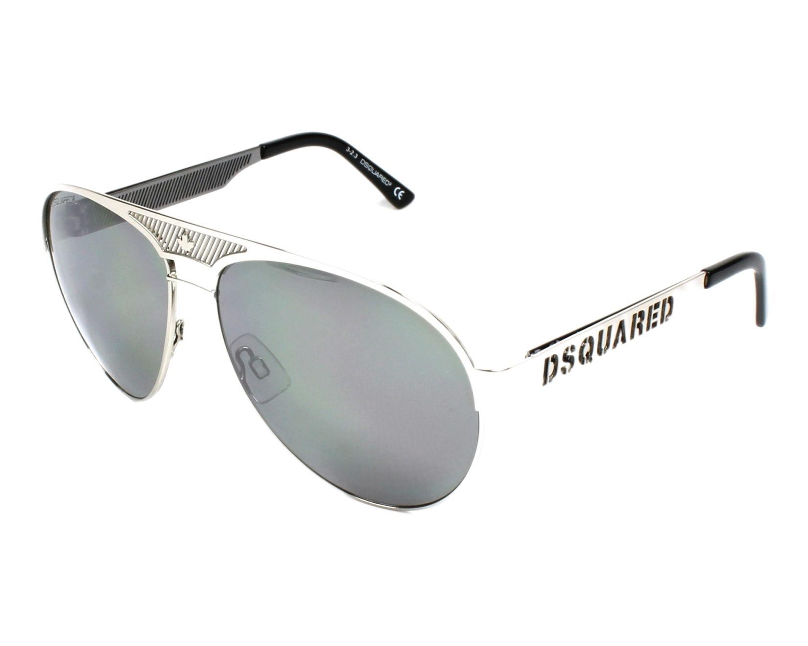 0e3f2e5c6d thumbnail Sunglasses DSQUARED DQ-0138 20C - Silver profile view