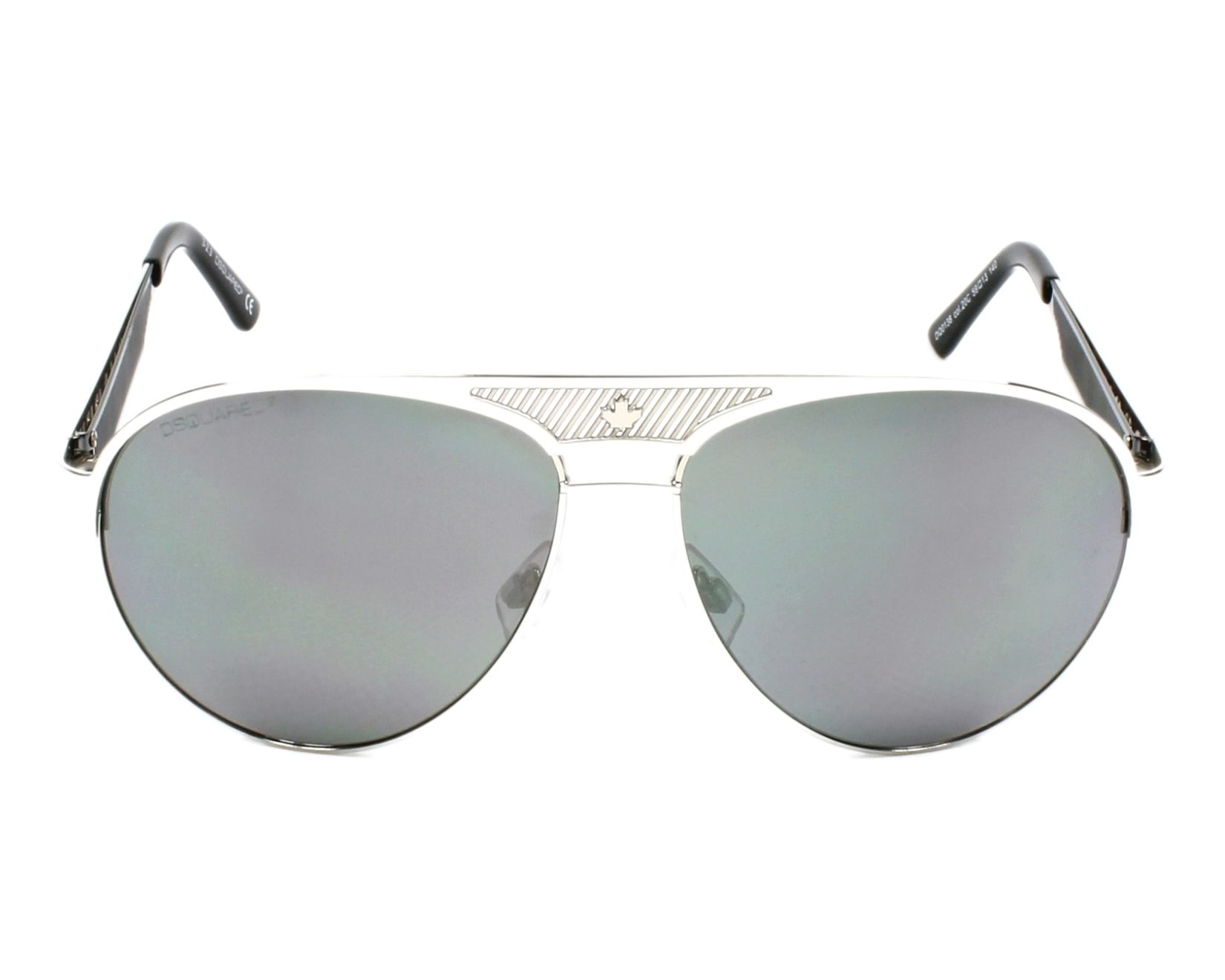 919fcbdf94 thumbnail Sunglasses DSQUARED DQ-0138 20C - Silver front view