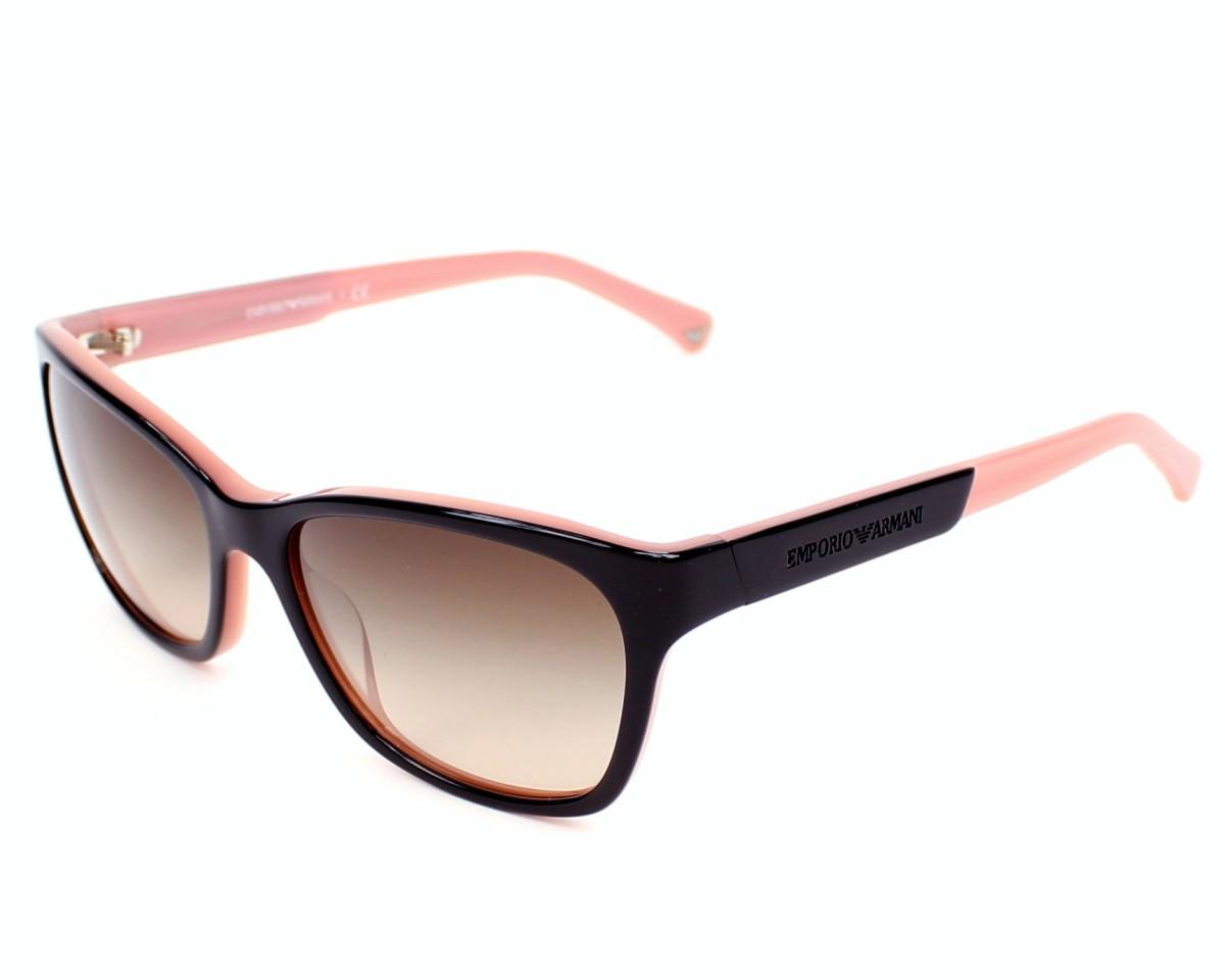 41657988144 Sunglasses Emporio Armani EA-4004 5046 13 56-17 Black Pink profile view