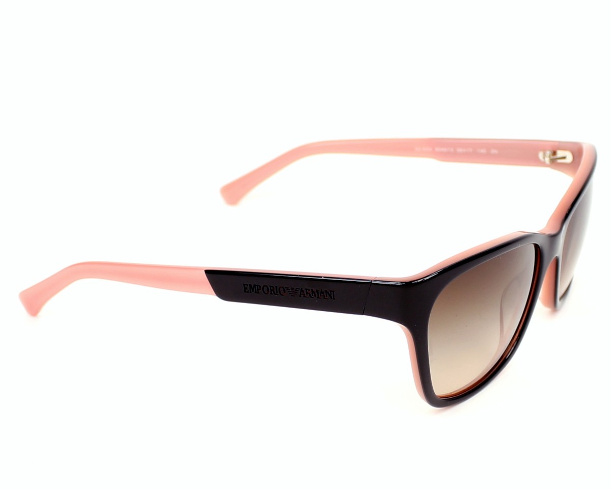 6f9e8100950 Sunglasses Emporio Armani EA-4004 5046 13 56-17 Black Pink side view