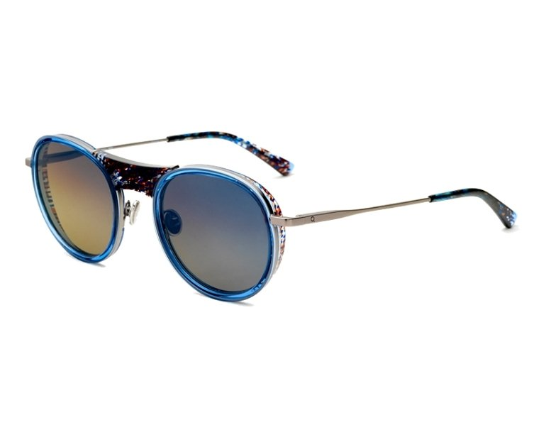 f2284da4373 Sunglasses Etnia Barcelona TRIBECA BRBL 52-23 Blue Marble profile view