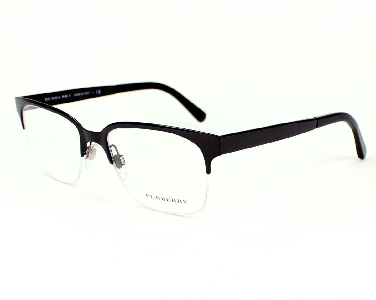 57f28af7bd6e eyeglasses Burberry BE-1253 1180 - Black profile view