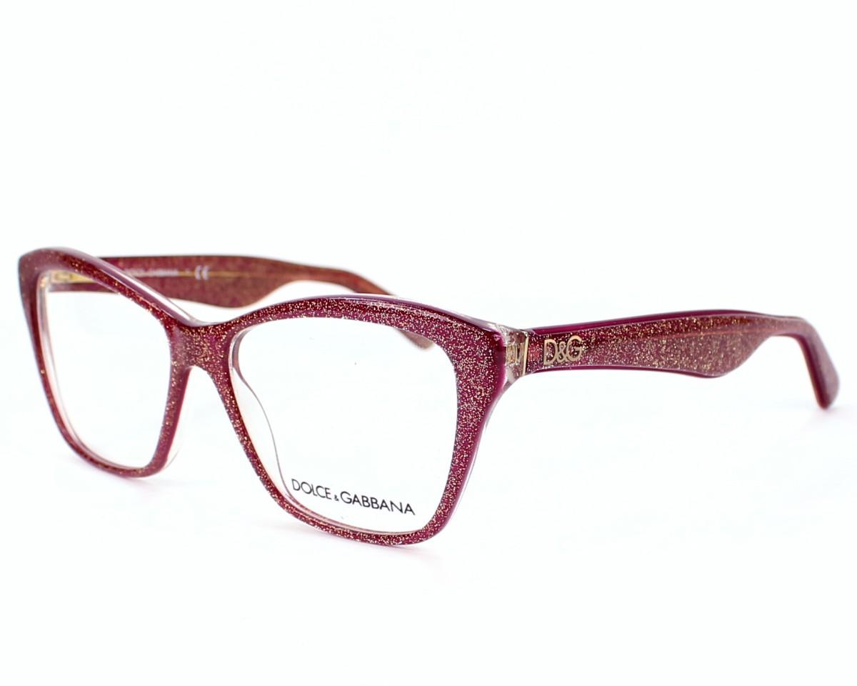 f7c8f9dd5a89 eyeglasses Dolce & Gabbana DG-3167 2739 - Red profile view