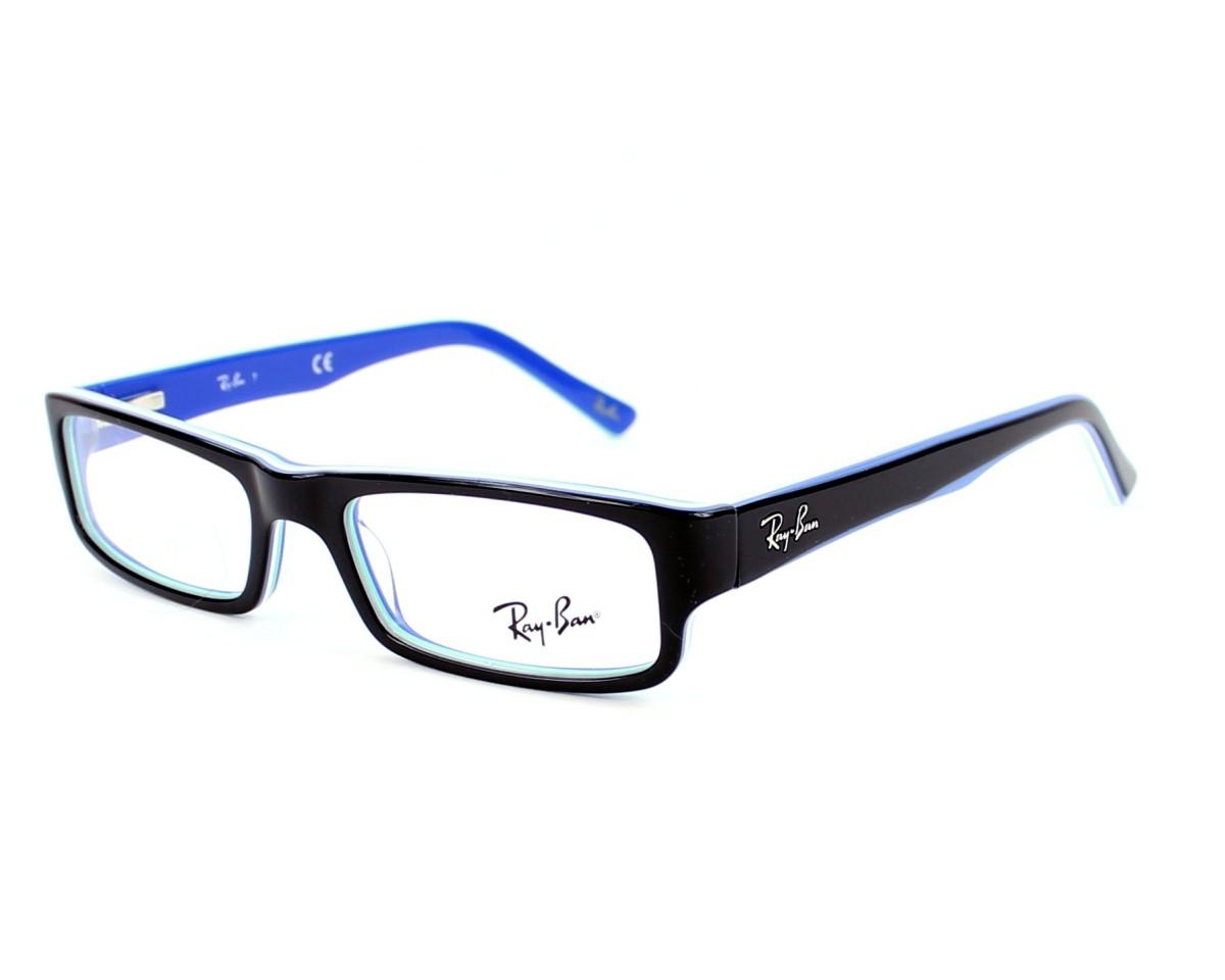 bc54319d53 eyeglasses Ray-Ban RX-5246 5151 - Black Blue profile view