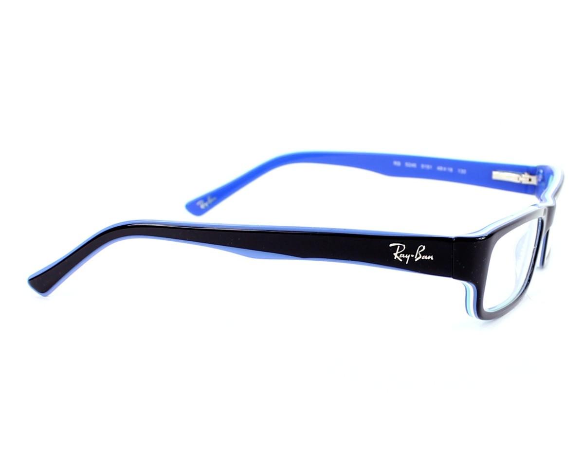 f312d7b5bb eyeglasses Ray-Ban RX-5246 5151 - Black Blue side view