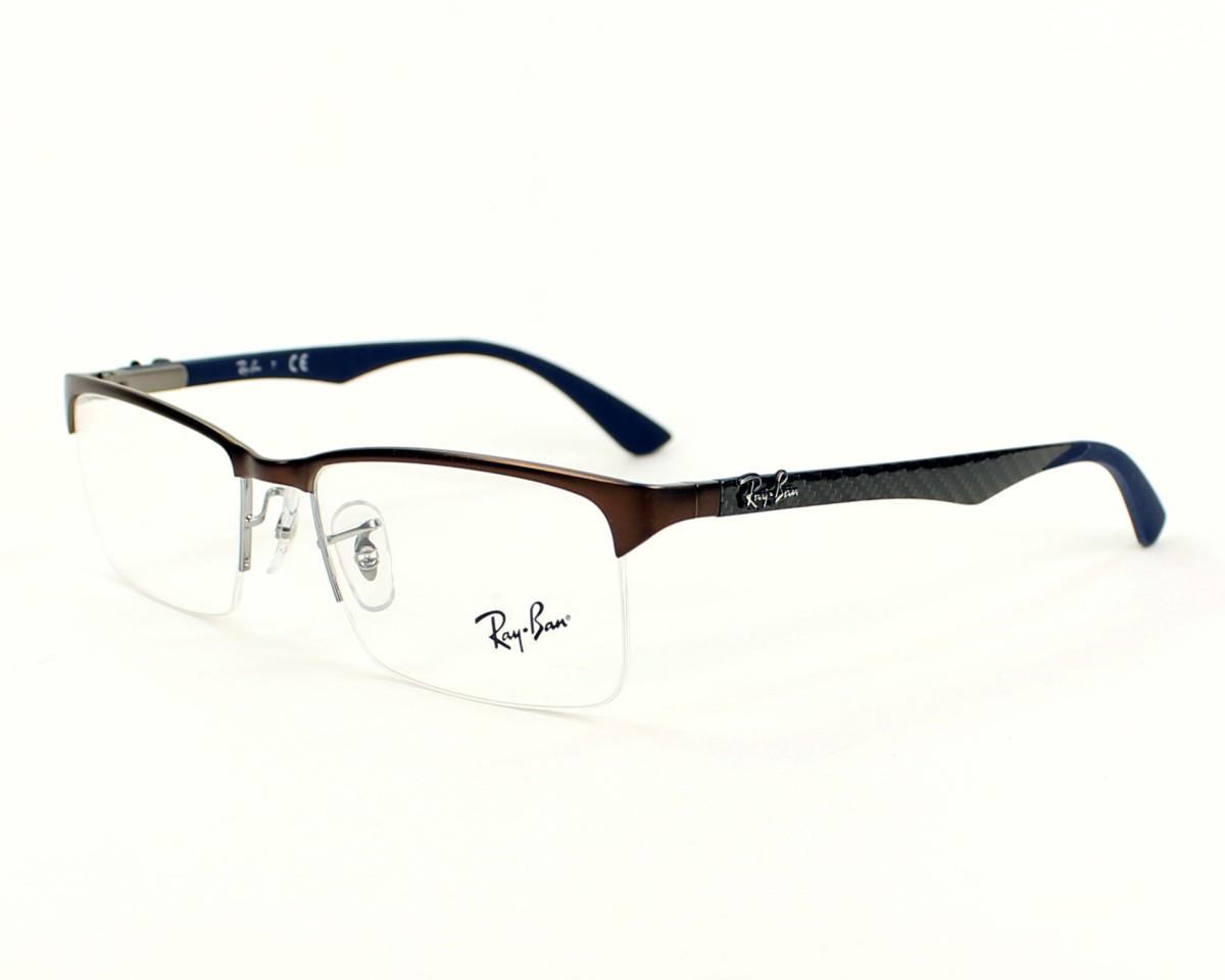 afc0693b14 Ray Ban Rx8411 Carbon Fibre Eyeglasses