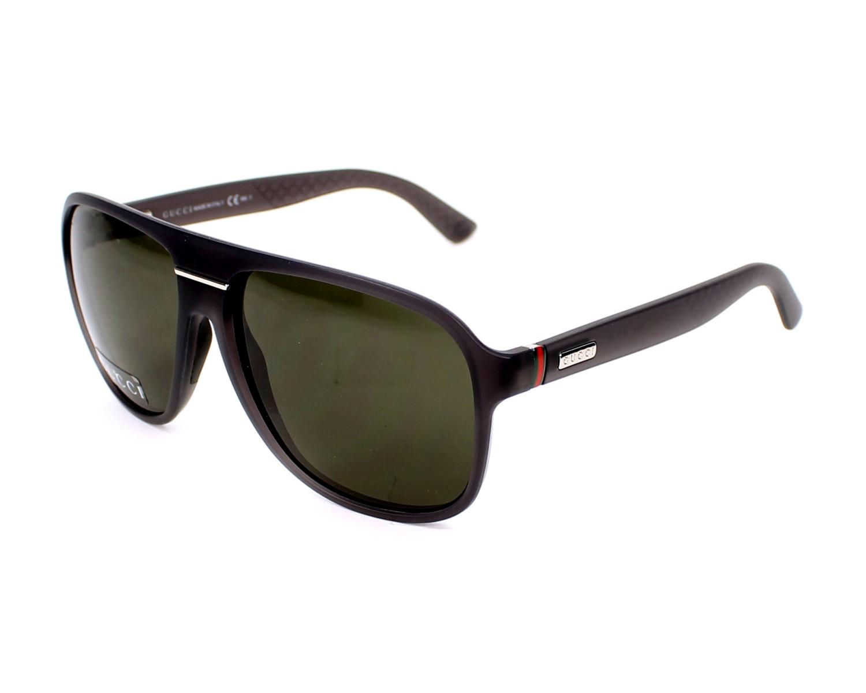 02c4cec820c thumbnail Sunglasses Gucci GG-1076-NS QXM NR - Grey profile view