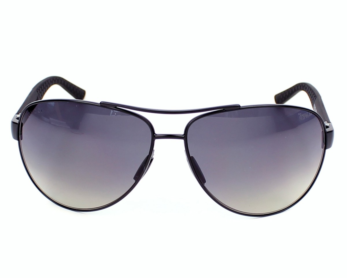 6305e955164e thumbnail Sunglasses Gucci GG-2246-S 4VH WJ - Black Grey front view