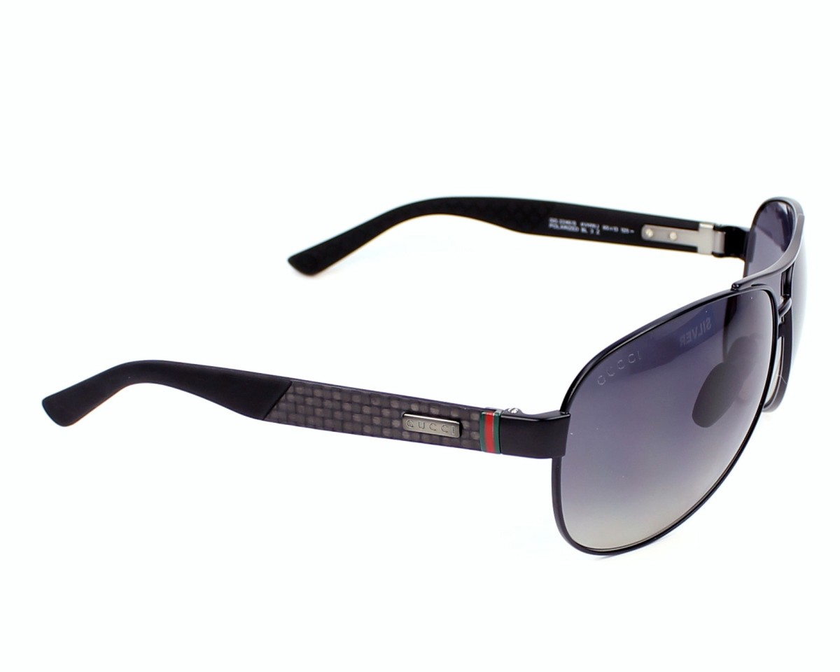 cd70ee8d1fc1 thumbnail Sunglasses Gucci GG-2246-S 4VH WJ - Black Grey side view
